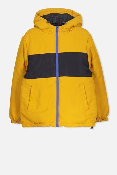 Explorer Jacket, GOLD GLOW/SHADOW SPLICE