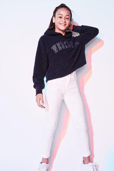 Skinny Jean, WHITE
