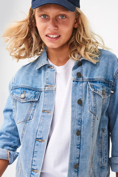 Equal Denim Jacket, ORIGINAL WASH