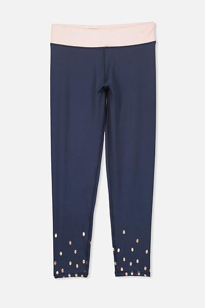 Free Active 7/8 Legging, OBRIEN BLUE/ANIMAL BORDER