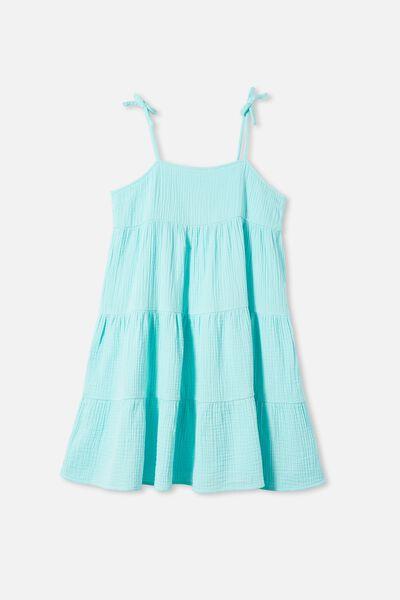 Nicole Sleeveless Dress, DREAM BLUE