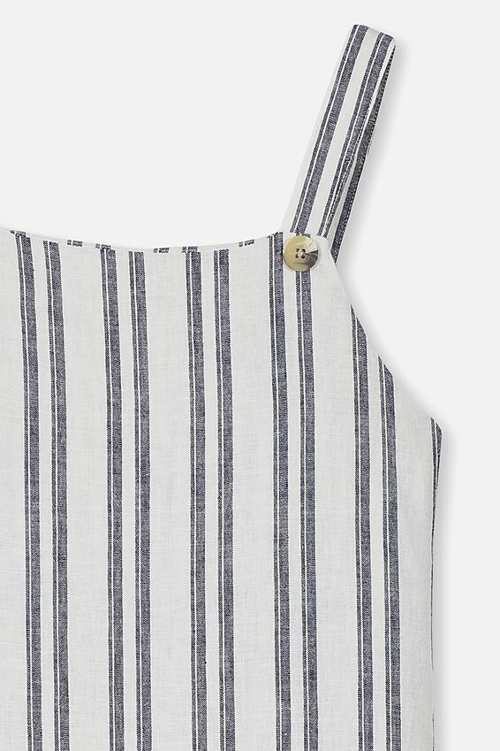 Pini Dress, NAVY STRIPE