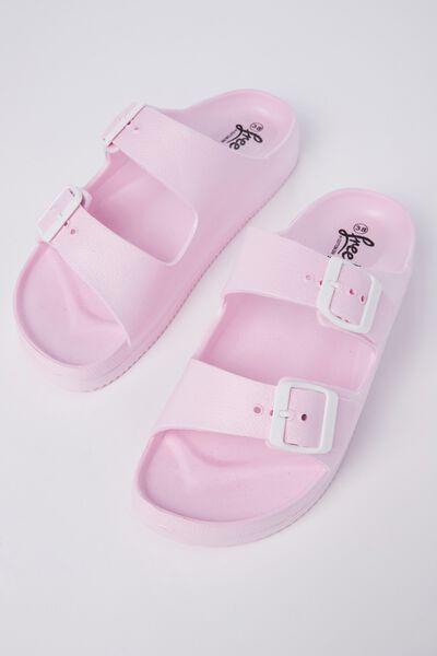 Free Twin Strap Sandal, SOFT PINK