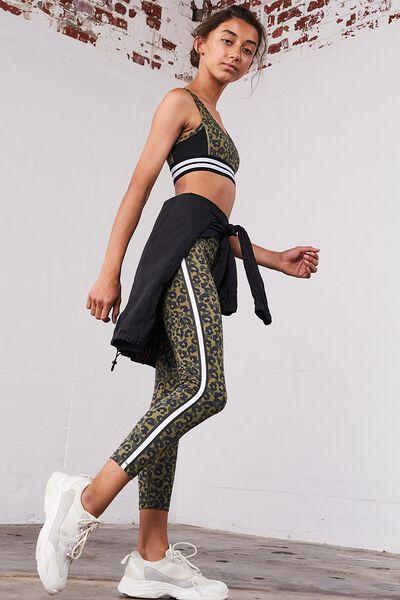 7/8 Fashion Leggings, CAMO ANIMAL