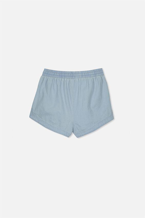 Willow Woven Short, CHAMBRAY