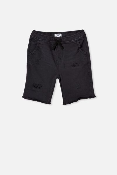 Boys Street Slouch Short, AFTER DARK