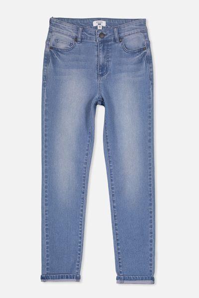 Slim Leg Jean, COASTER BLUE