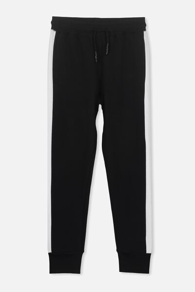 Urban Track Pant, BLACK/WHITE