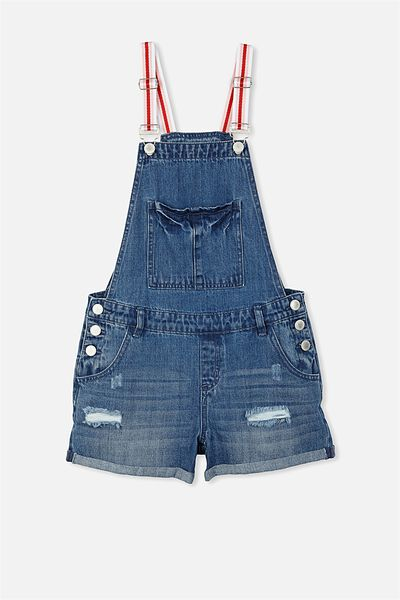 Dixie Denim Shortall, RICH MID INDIGO