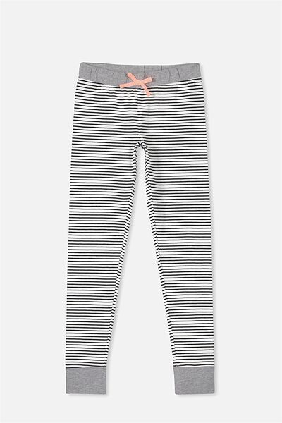 Zoe Sleep Pant, OBRIEN /WHITE STRIPE