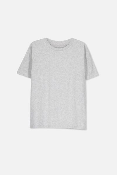 Equal Tee, SOFT GREY MARLE