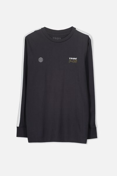 Long Sleeve Tee, SHADOW/SIDE LINE