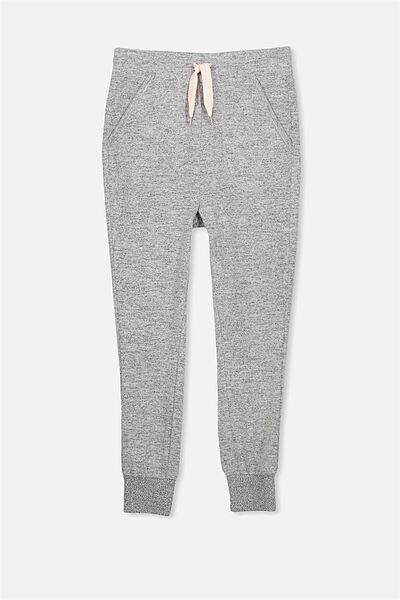 Super Soft Slouch Pant, MID GREY MARLE