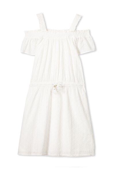 Sienna Dress, WHITE