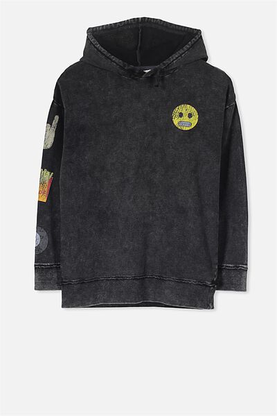 Adam Hoodie, WASHED GRAPHITE/NOW OR NEVER