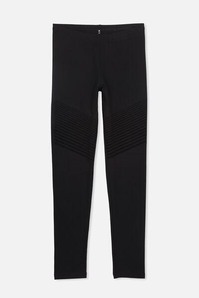 Alex Printed Legging, BLACK/MOTO PLACEMENT