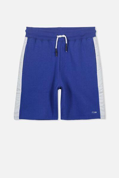Sport Knit Short, ADMIRAL BLUE/WHITE