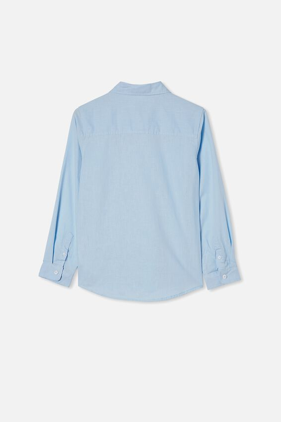 Free Boys Harper Ls Shirt, FROSTY BLUE