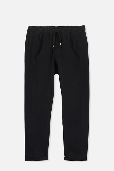 Annie Slouch Pant, WASHED BLACK