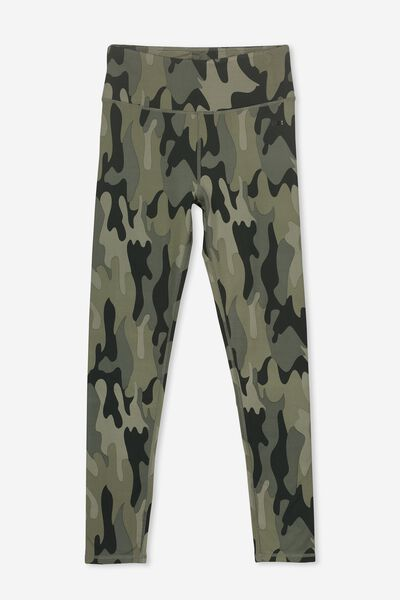 Full Length Legging, CAMO PRINT
