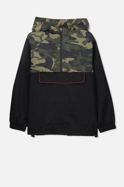Spray Jacket, CAMO/BLACK ZIP