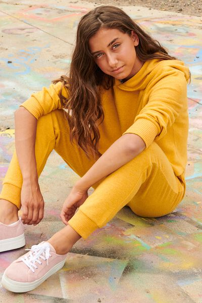Supersoft Trackpant, GOLD GLOW