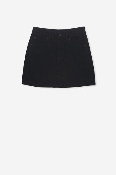 Cord Skirt, NAVY