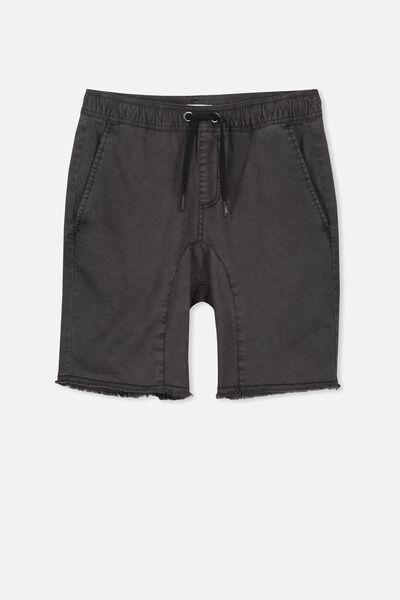 Drop Crotch Short, BLACK