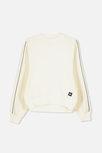 High Neck Jumper, DARK VANILLA