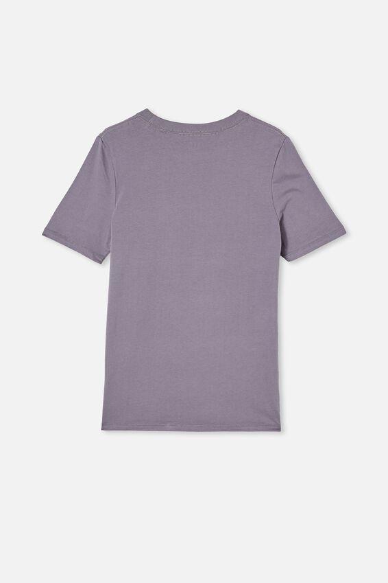 Free Boys Skater Short Sleeve Tee, STEEL / STAY FRESH HOMIES