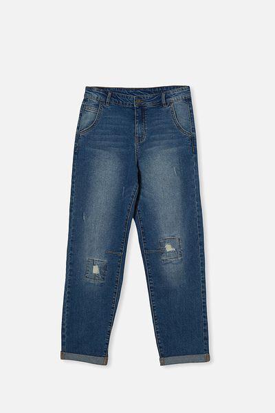 Boys Street Jean, INFINITY MID BLUE WASH