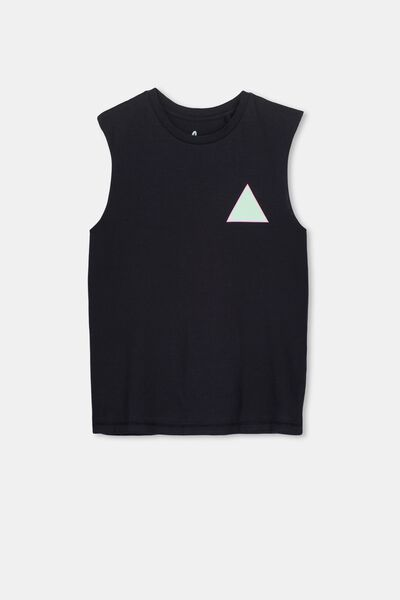 Owen Muscle, WASHED BLACK/91 TRIANGLE