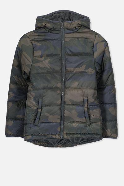 Pete Puffer Jacket, CAMO 5 PRINT