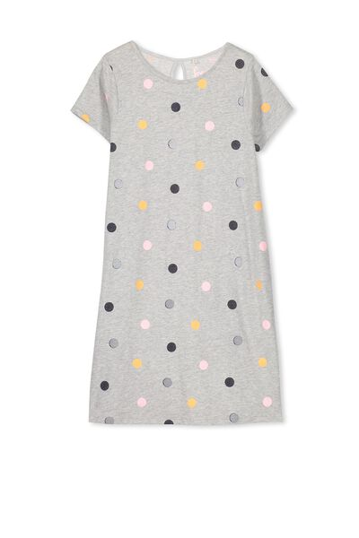 Darci Dress, LIGHT GREY MARLE/MISH MASH