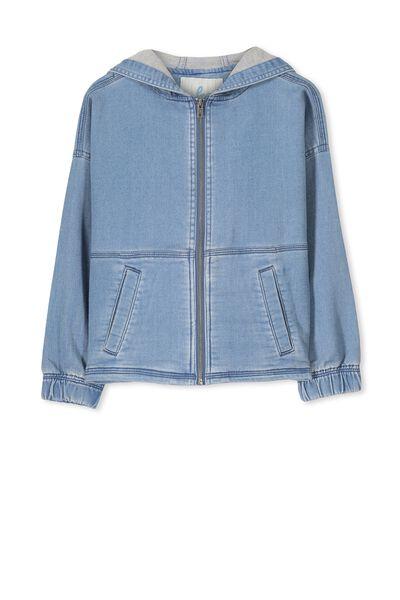 Sharni Jacket, MID WASH