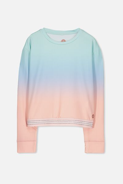 Free Active Ls Top, PASTEL GRADIENT