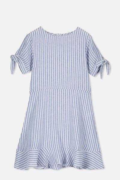 Hanna Dress, BLUE STRIPE