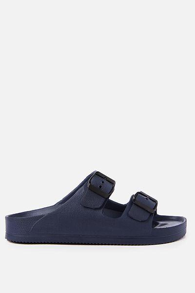 Free Twin Strap Sandal, NAVY