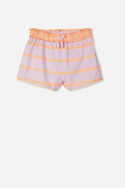 Mia Sleep Short, LILAC SORBET/TROPICAL STRIPE