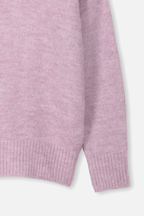 Sage Pullover, CHALKY MAUVE MARLE