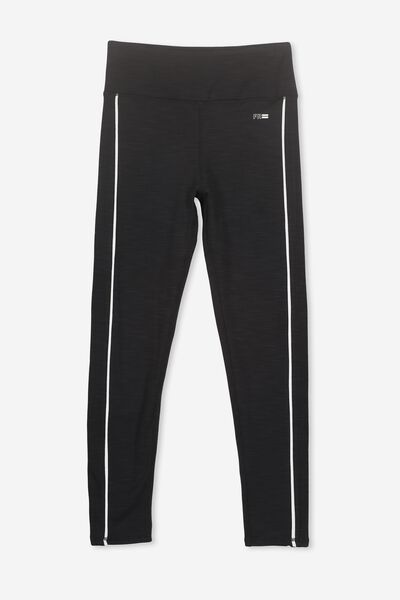 Full Length Legging, BLACK MARLE