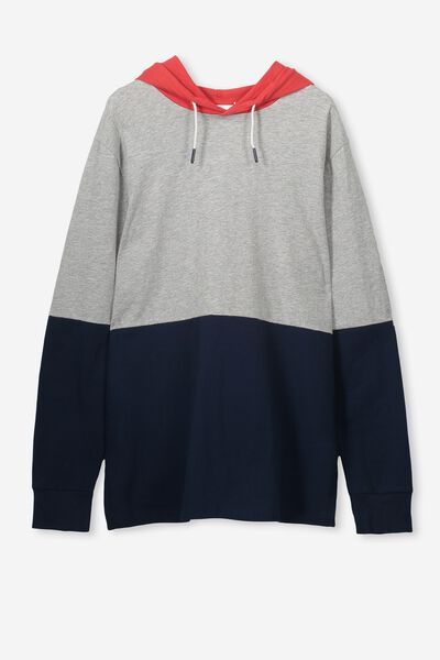 Jimmy Ls Tee, GREY MARLE/SPLICE