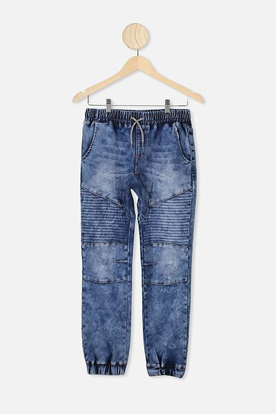 Slouch Pant, NEW OCEAN BLUE ACID WASH