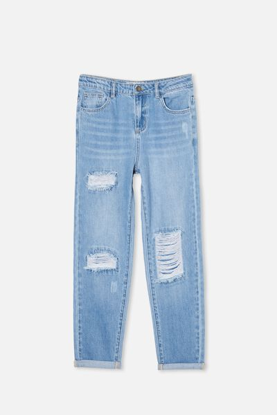 Indiana Slouch Jean, WEEKEND WASH/RIPS