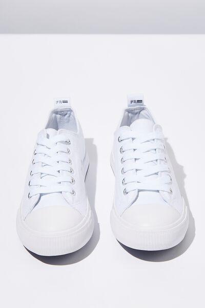 Classic Blue Sport Sneaker, WHITE