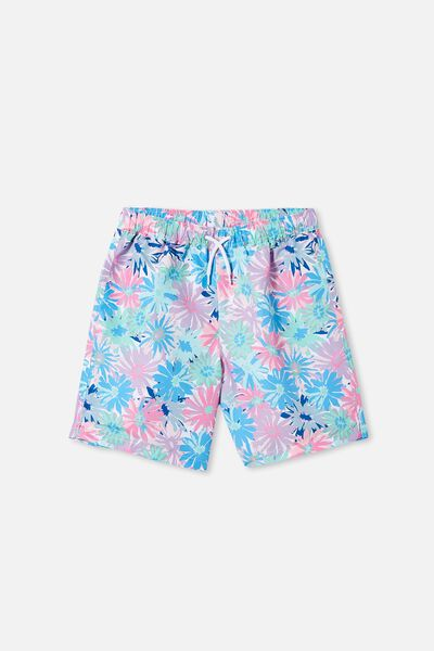 Kip & Co Boys Bailey Boardshort, LCN KIP PETAL POWER
