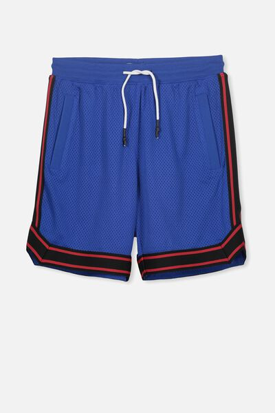 Basketball Short, ULTRA BLUE/BLACK TAPE
