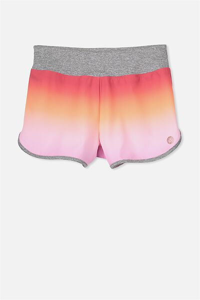Free Active Jogger Short, WASHED LILAC/GRADIENT
