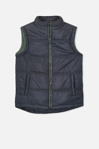 Mitch Puffer Vest, PHANTOM