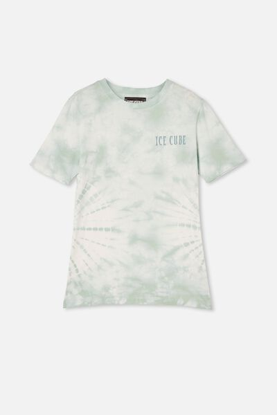 Co-Lab Free Tee, LCN MT DUCK EGG TIE DYE / ICE CUBE